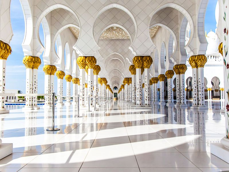 Один день в сказочном Абу-Даби - экскурсия в Дубае