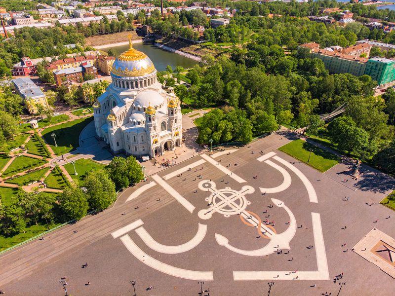 Из Петербурга в Кронштадт: автобусная экскурсия - экскурсия в Санкт-Петербурге