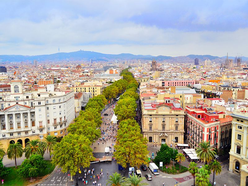 Барселона: «Аяиду, шагаю поРамбле...» - экскурсия в Барселоне