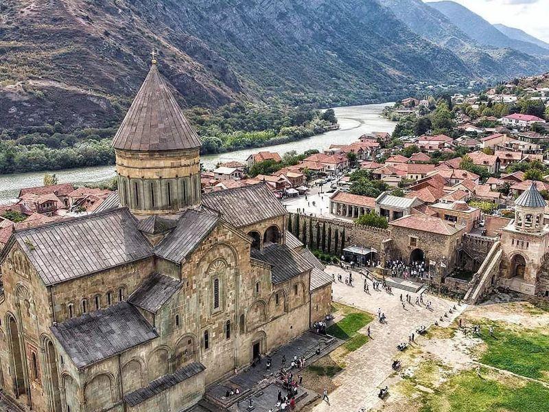 Мцхета и Уплисцихе — Грузия христианская и языческая - экскурсия в Тбилиси