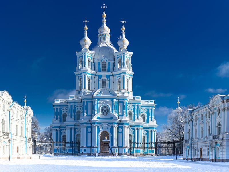 Смольный собор - экскурсия в Санкт-Петербурге