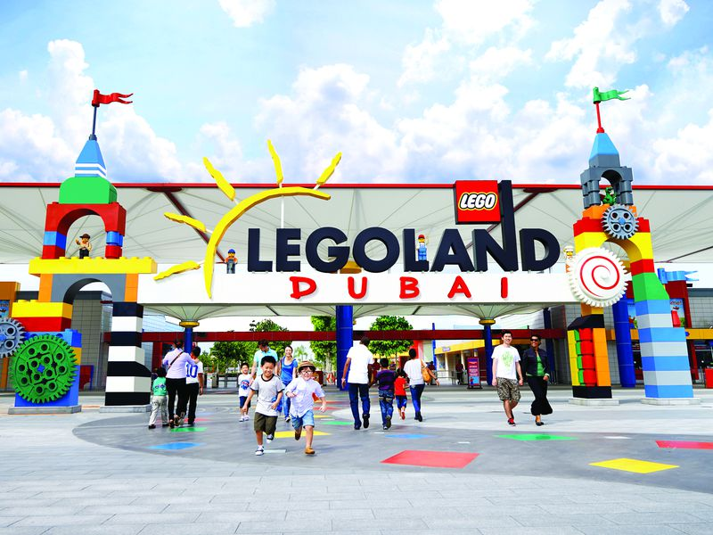 День втематическом парке «LegoLand»! - экскурсия в Дубае