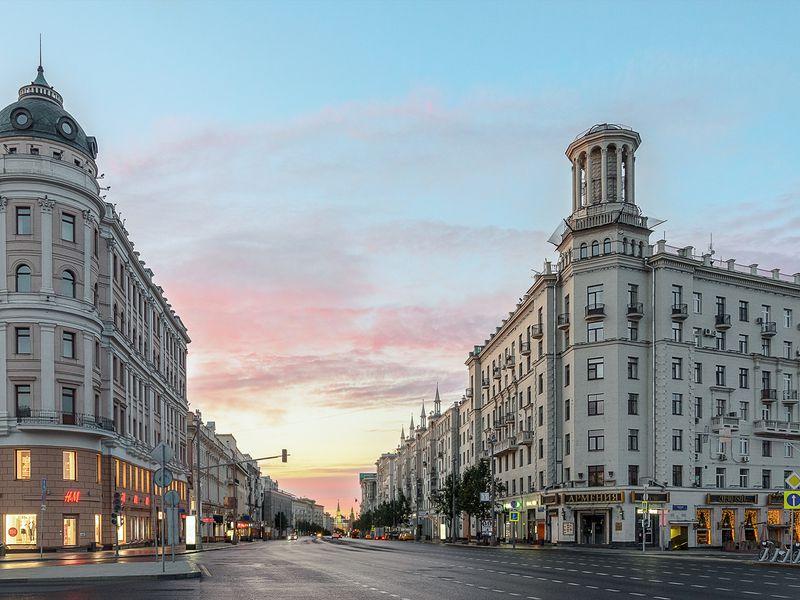 Столичная прогулка по Тверской: от«Охотки» до«Маяковки» - экскурсия в Москве