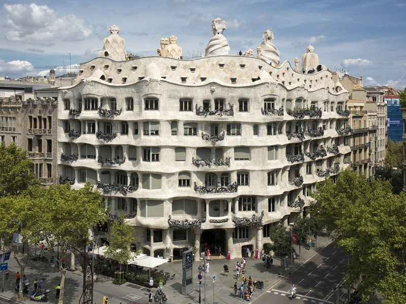 Онлайн-прогулка по Барселоне: дома Гауди и другие шедевры модерна - экскурсия в Барселоне