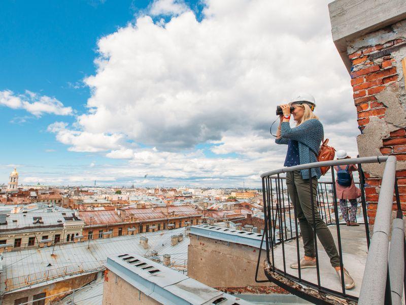 Безопасная прогулка по петербургской крыше - экскурсия в Санкт-Петербурге
