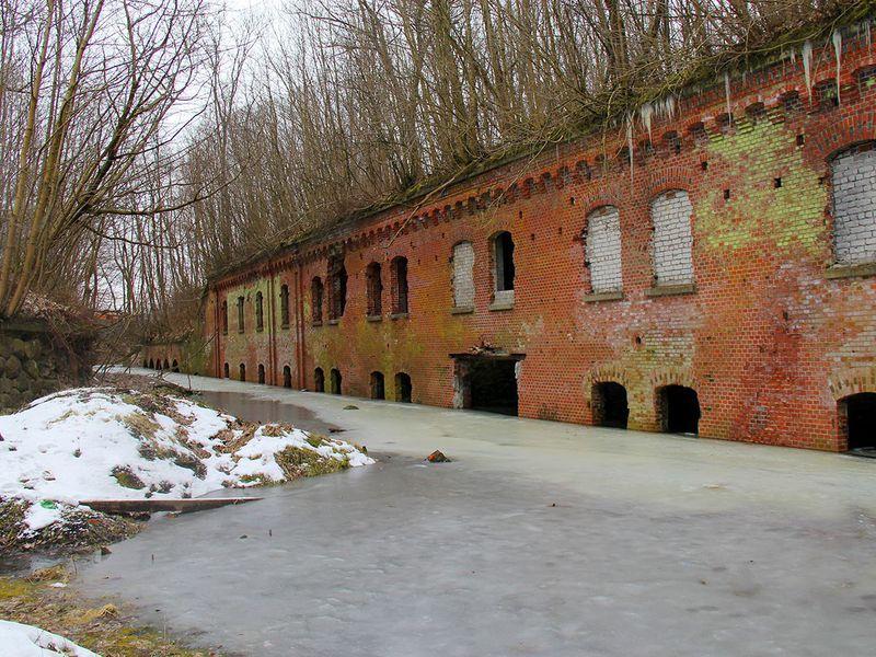Калининградские форты изнутри - экскурсия в Калининграде