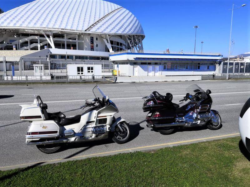 По Олимпийскому парку Сочи на мотоциклах - экскурсия в Сочи