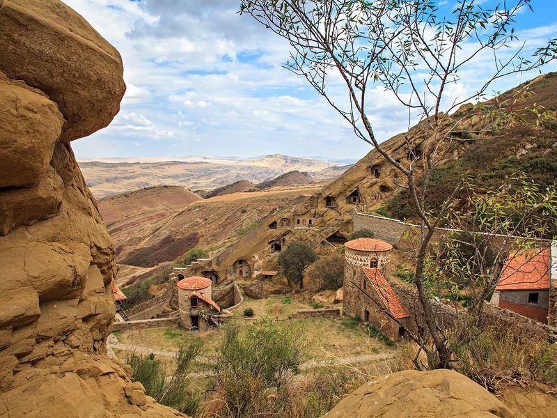 Фотопрогулка в Давид Гареджи. Пустыня и древние монастыри - экскурсия в Тбилиси