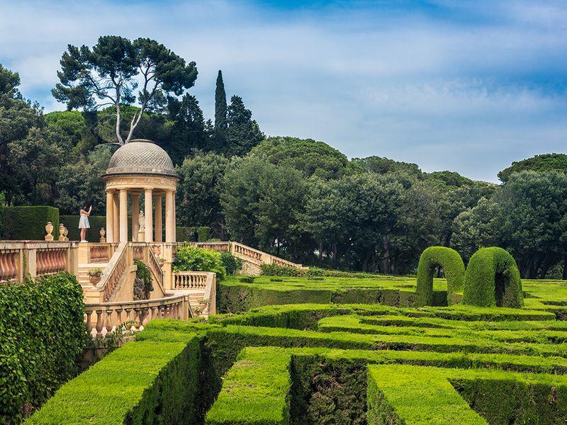 Парк-лабиринт д'Орта— зачарованный уголок Барселоны - экскурсия в Барселоне