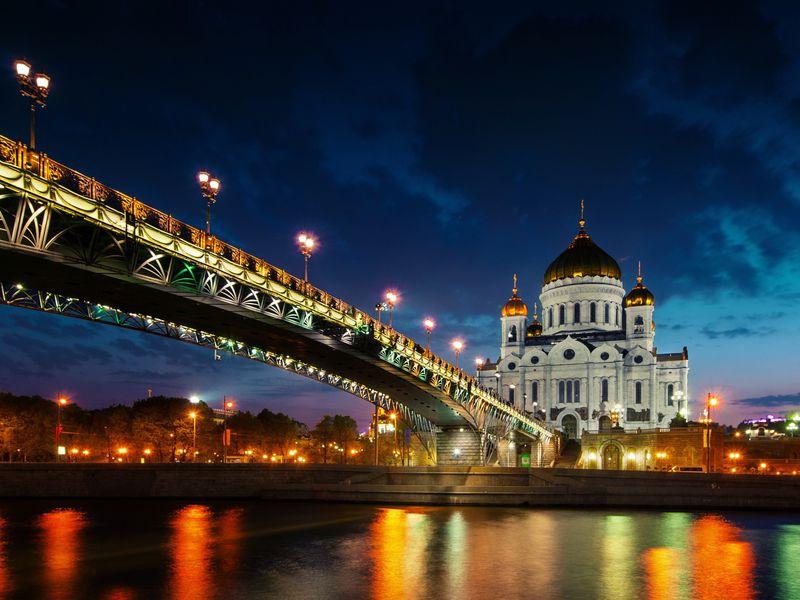 Вечерние краски столицы - экскурсия в Москве