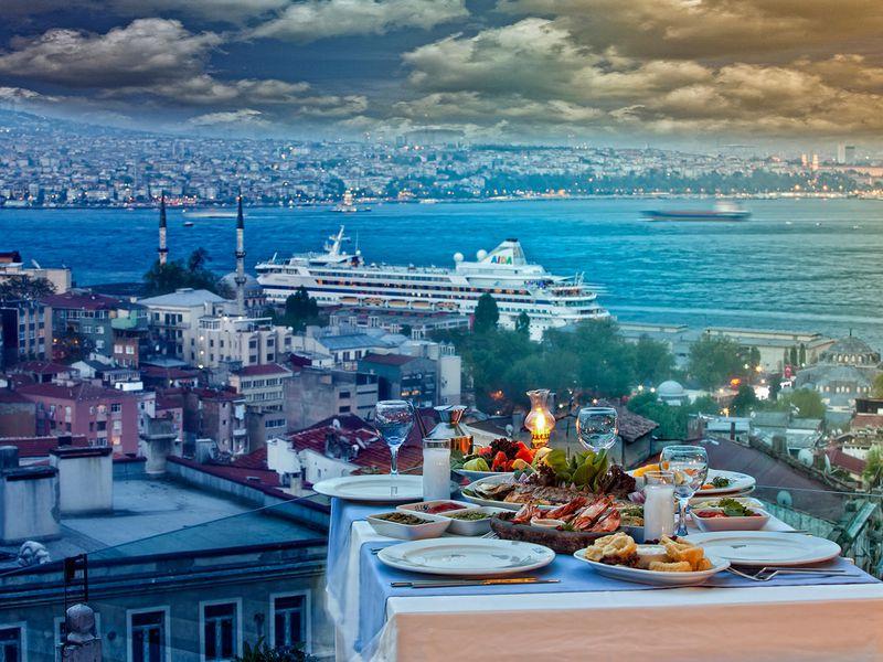 Покорить топовые террасы Стамбула - экскурсия в Стамбуле