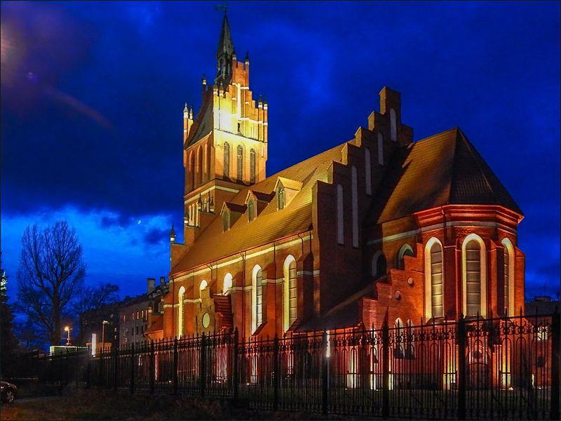 Вечерний Калининград - экскурсия в Калининграде