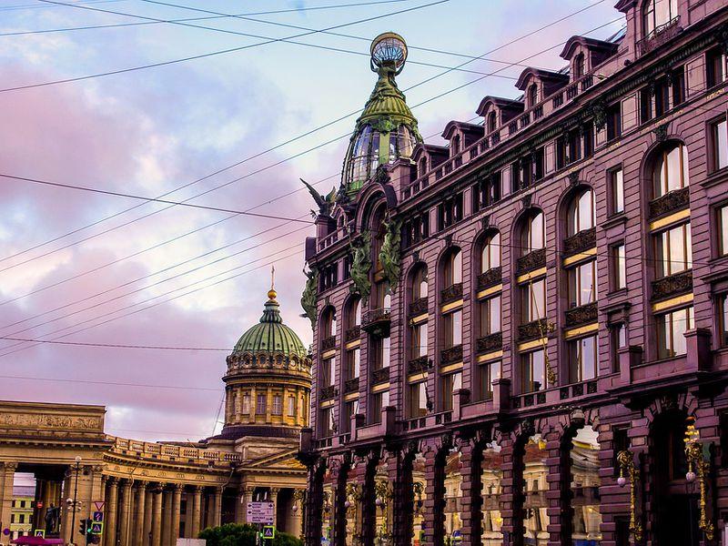Прогулка по Невскому проспекту - экскурсия в Санкт-Петербурге