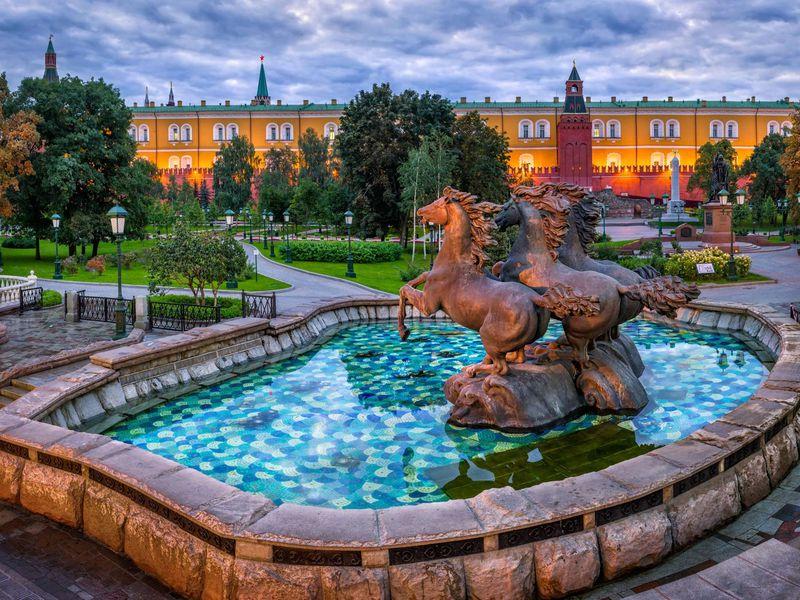 Групповая экскурсия поцентру Москвы - экскурсия в Москве