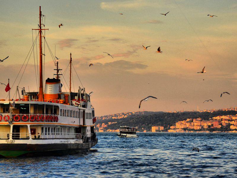 Вечерняя прогулка по Босфору - экскурсия в Стамбуле