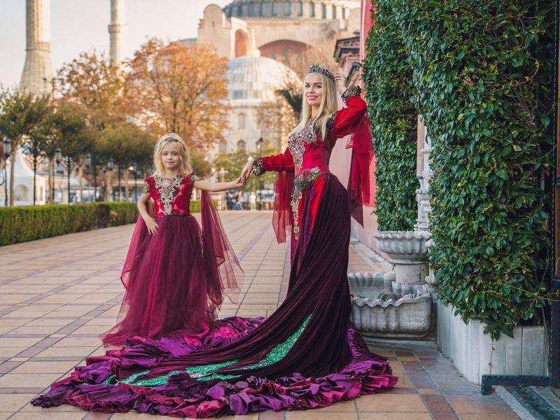 Костюмированная фотосессия в сердце Стамбула - экскурсия в Стамбуле