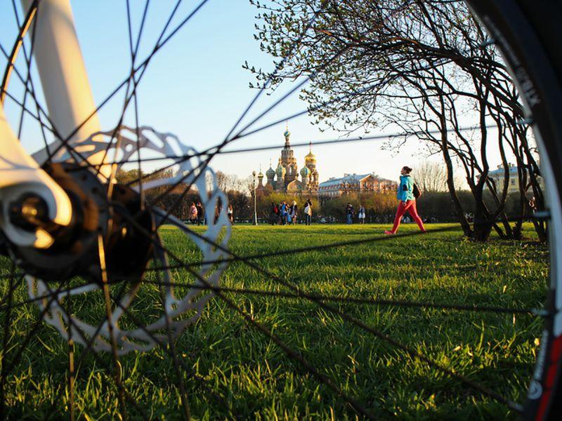 Велосипедная прогулка по центру Петербурга - экскурсия в Санкт-Петербурге