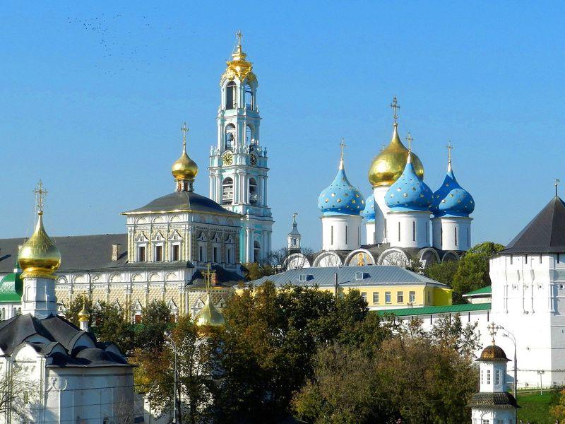 Троице-Сергиева лавра спосещением колокольни - экскурсия в Сергиевом Посаде