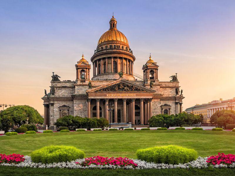 Обзорная экскурсия по Петербургу с посещением Исаакиевского собора - экскурсия в Санкт-Петербурге