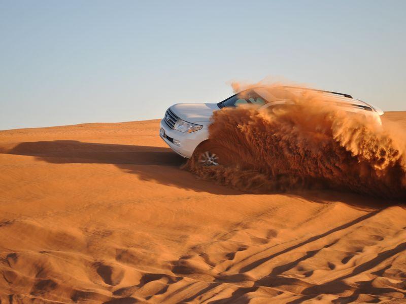 Сафари по Аравийской пустыне - экскурсия в Дубае